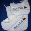 Bavaglino + asciugamano  BRIAN
