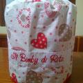 """FONT 1 - cuori patch rosso """" Il Bimby di Rita"""""""