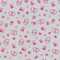 BUTTERFLY rosa fondo grigio chiaro