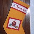 calza della befana Cristian + gufo
