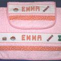 bavaglino + asciugamano EMMA