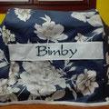 FONT 3 - blu a fiori beige
