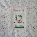"Sara "" HELLO KITTY su ALTALENA"""