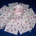 sacchetto farfalle rosa