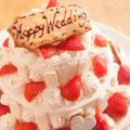 3段ウェディングケーキも承ります 木更津 誕生日