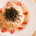 木更津海苔の明太クリームスパゲティ