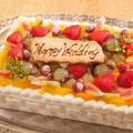 ウェディングケーキ 当店パテシェが手作りいたします 木更津 サプライズ
