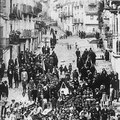 Anni '30 - La banda durante manifestazione fascista