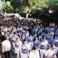 1998 - Partecipazione alla festa di Maria SS di Gibilmanna