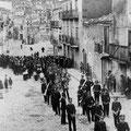Anni '30 - La banda ad un funerare dell'epoca