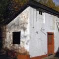 Gartenhaus vorher
