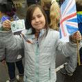 Flagge und der Teilnehmerausweis dürfen nicht fehlen