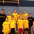 Unsere Sportler mit den Sportlehrern