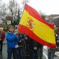 Klasse 3c als Vertreter Spaniens
