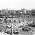 Mai 1920 - Construction des bâtiments du collège épiscopal (photo Paul Collet)
