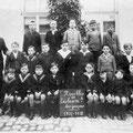 1927-1928 : Ecole communale des garçons