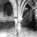 Cave voûtée datée du 15e siècle photographiée en août 1940