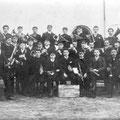 1908-1909 - Ecole Normale : Société des fanfares