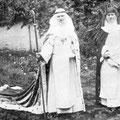 L'abbesse Ismène de Looz et sa suivante