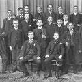 1906-1907 Ecole Normale : les Liégeois
