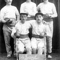 """1915-1916 : société de balle pelote """"Le Record Nivellois"""""""