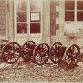 Trois des quatre canons de Nivelles