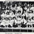 24 juillet 1910-Fête des Arbres