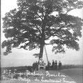 Tombe belge du lieutenant Simon de Nivelles à Rabosée-Barchon