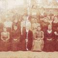1899 - les élèves de l'école dominicale. Voir ci-dessous.