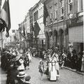1913-Visite du cardinal Mercier (collection J.-J. Chapelle)