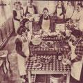 """Leçon de cuisine à l'atelier d'apprentissage """"Reine Astrid"""" place Albert 1er"""