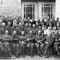 6 juillet 1946 : auditorat militaire face au palais de justice -Voir légende ci-dessous