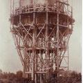 Construction du château d'eau
