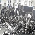29 mai 1924 - Noces d'or à Nivelles devant l'hôtel de ville