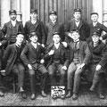 Ecole Normale 1906-1907 : Les douze