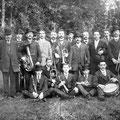 Vers 1920 - Le Cercle musical (harmonie libérale)