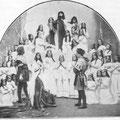 Le Christ bénit les saints époux