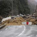 04/01/2008 - Eboulement en vallée d'Aspe