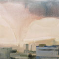 O.T., 2009/2013 (Überarbeitet), Acryl auf Leinwand, 50 x 60 cm