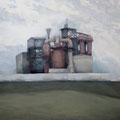 O.T. (Arbeitstitel: weiße Mauer), 2006, Acryl auf Leinwand, 115 x 135 cm