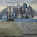 O.T. (Arbeitstitel: Zauberberg II), 2006, Acryl auf Leinwand, 110 x 120 cm