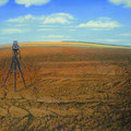 Landvermessung, ( Land Surveying, )70x100cm