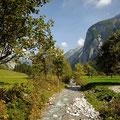 Der Rißbach im Engtal