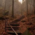 Die Treppe zum Nadelöhr