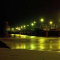 Am Abend an der Seebrücke Zingst