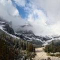 Das Grieß des Karwendelbaches