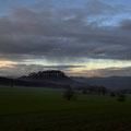 Es Regnet über dem Königstein
