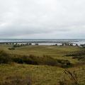 Blick vom Dornbusch auf die Halbinsel Altbessin