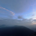 Blick vom 1.Wachturm zu den Tafelbergen