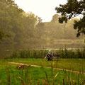 Herbstliche Ruhe im Schlosspark von Putbus